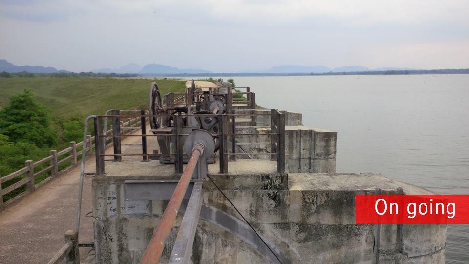 WERAS GANGA SHEET PILE PROJECT
