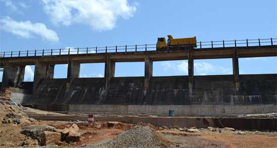 Remedial works of Muthiyankaddu Dam in Mullaitivu District
