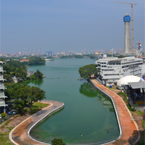 Construction of Bank Protection Works of Beira Lake