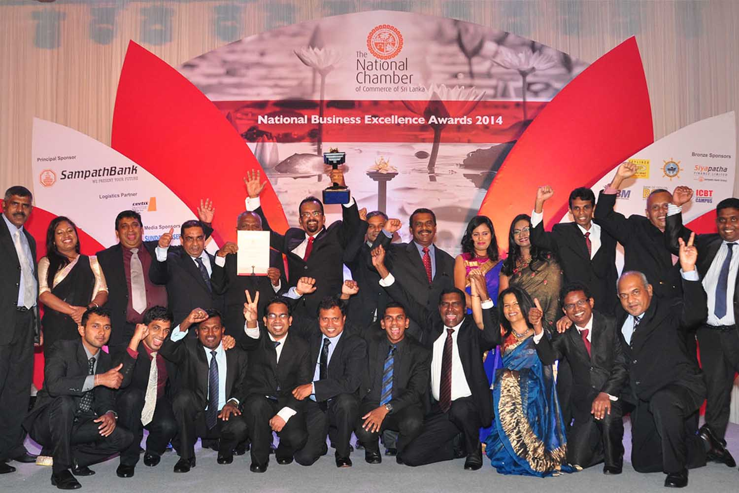 GOLD AWARD FOR CONSTRUCTIONS SECTOR